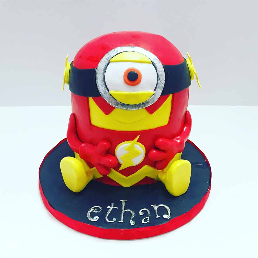 Flash Minion Cake unique birthday cakes adults 8 on unique birthday cakes adults