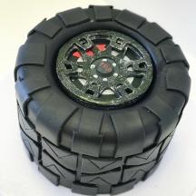 3D Tire Cake