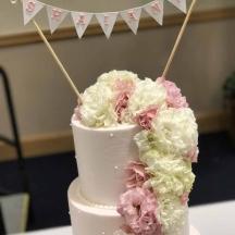 Bunting Banner Cake Topper