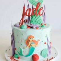 Jade's Mermaid Cake