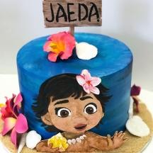 Jaeda's Moana Cake