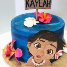 Kaylah's Moana Cake