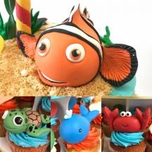 Nemo and Ocean Characters