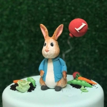 Peter Rabbit Sugar Figurine