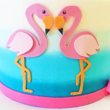 Sugar Flamingos