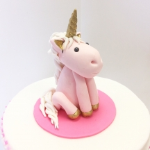 Unicorn Sugar Figurine