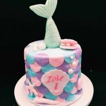 Zoie's Mermaid Cake