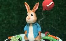 Peter Rabbit Sugar Figurine