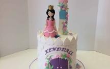 Queen Castle Cake