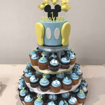 Baby Mickey Cupcakes