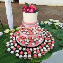 Coral Mini Cupcakes