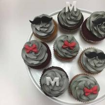 Daper Man Cupcakes