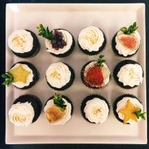Fresh Fruit Cupcakes