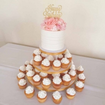 Happy Birthday Cupcake Tree
