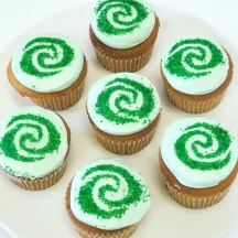 Moana Te Fiti Cupcakes