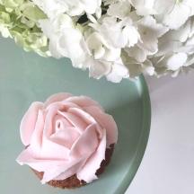 Pink Buttercream Rose