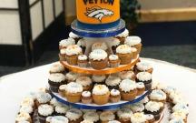 Broncos Cupcake Tree