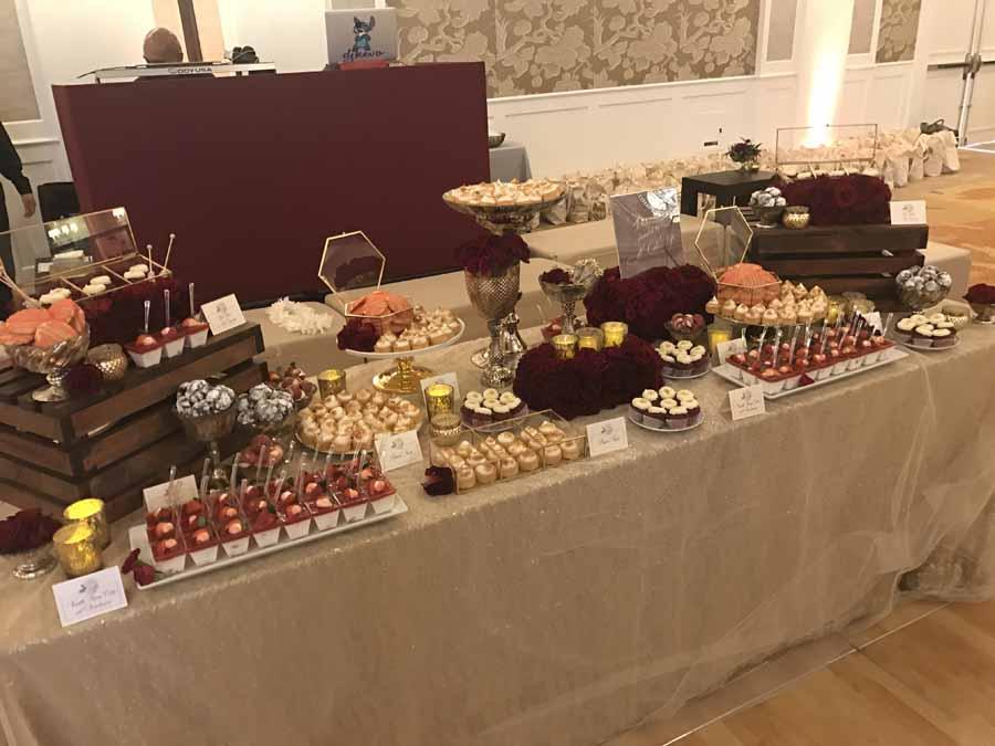 Mini desserts a cake life - Tables roulantes dessertes ...