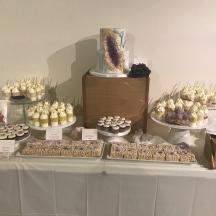 Amethyst Dessert Table