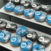Custom Logo Donuts