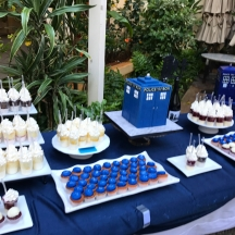 Dr Who Dessert Table