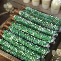 Green Pretzels
