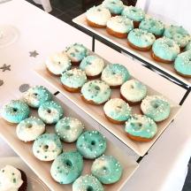 Ocean Marble Donuts