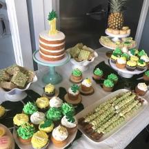 Pineapple Dessert Table