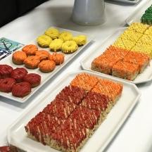 Rainbow Pretzels and Donuts 1