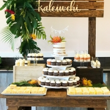 Tropical Dessert Table 1