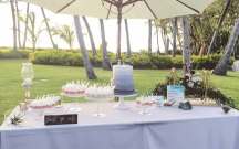 Cake Shooters Dessert Table