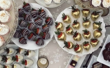 Dessert Table Strawberries
