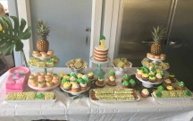 Pineapple Dessert Table 3