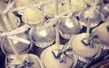 Silver Cake Pops