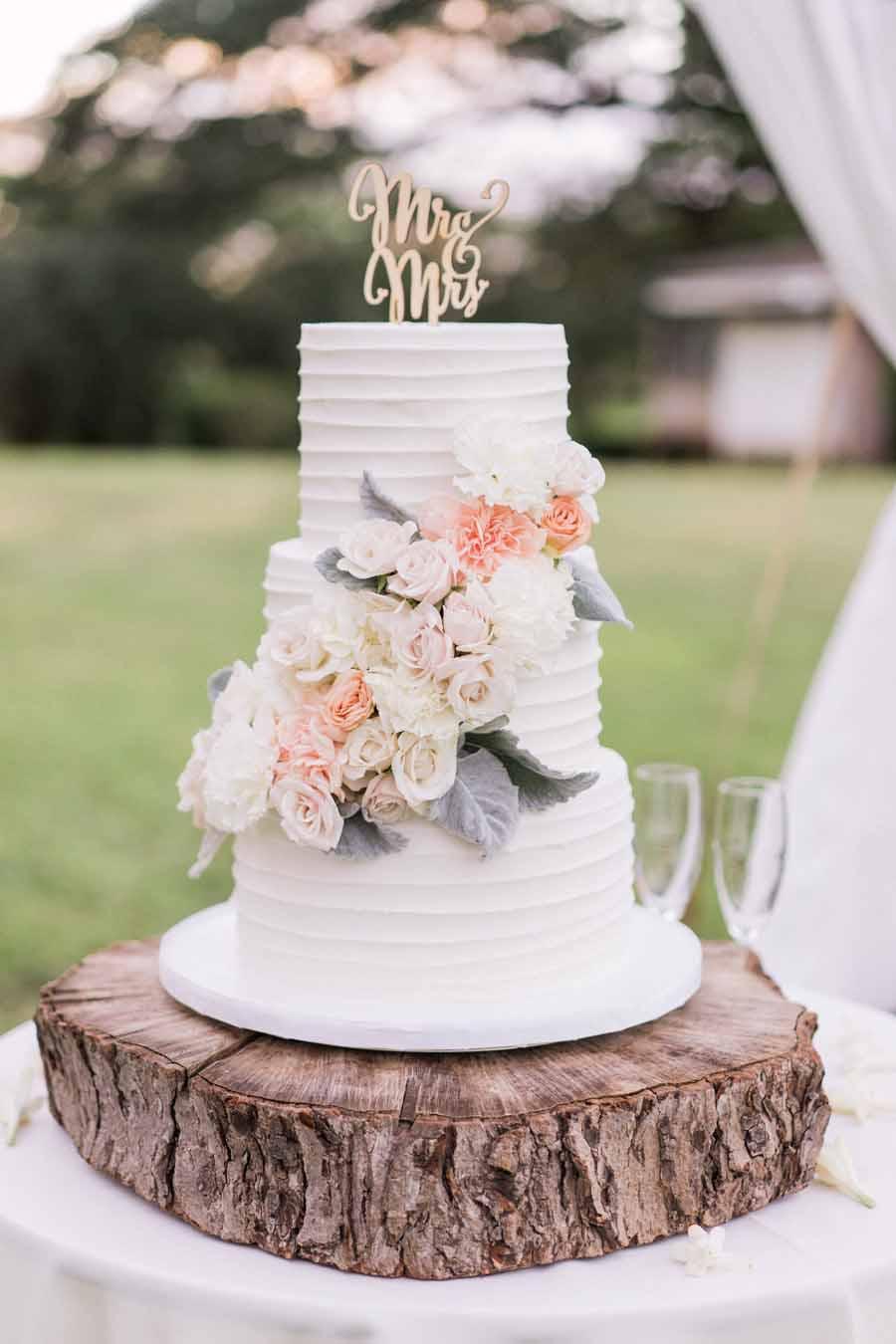 Line Texture Cake : Wedding cakes a cake life