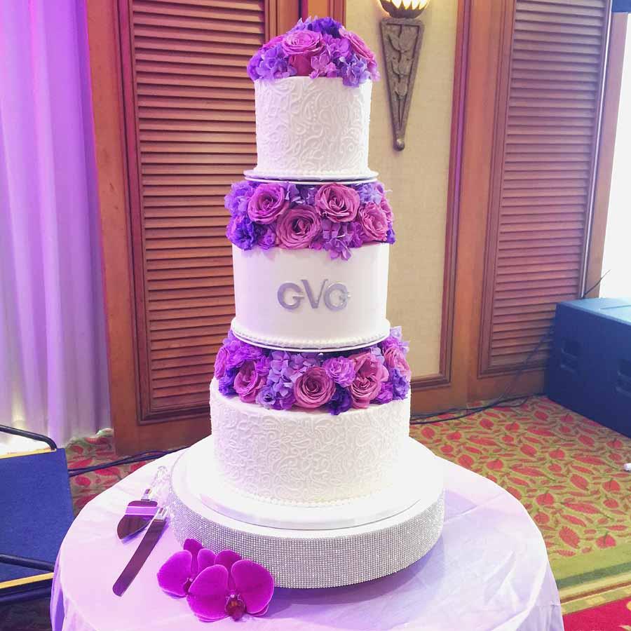 The Cake Artist Gina Vaccarino : Wedding A Cake Life
