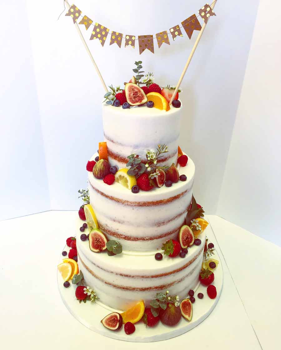 Naked Cake Decoration