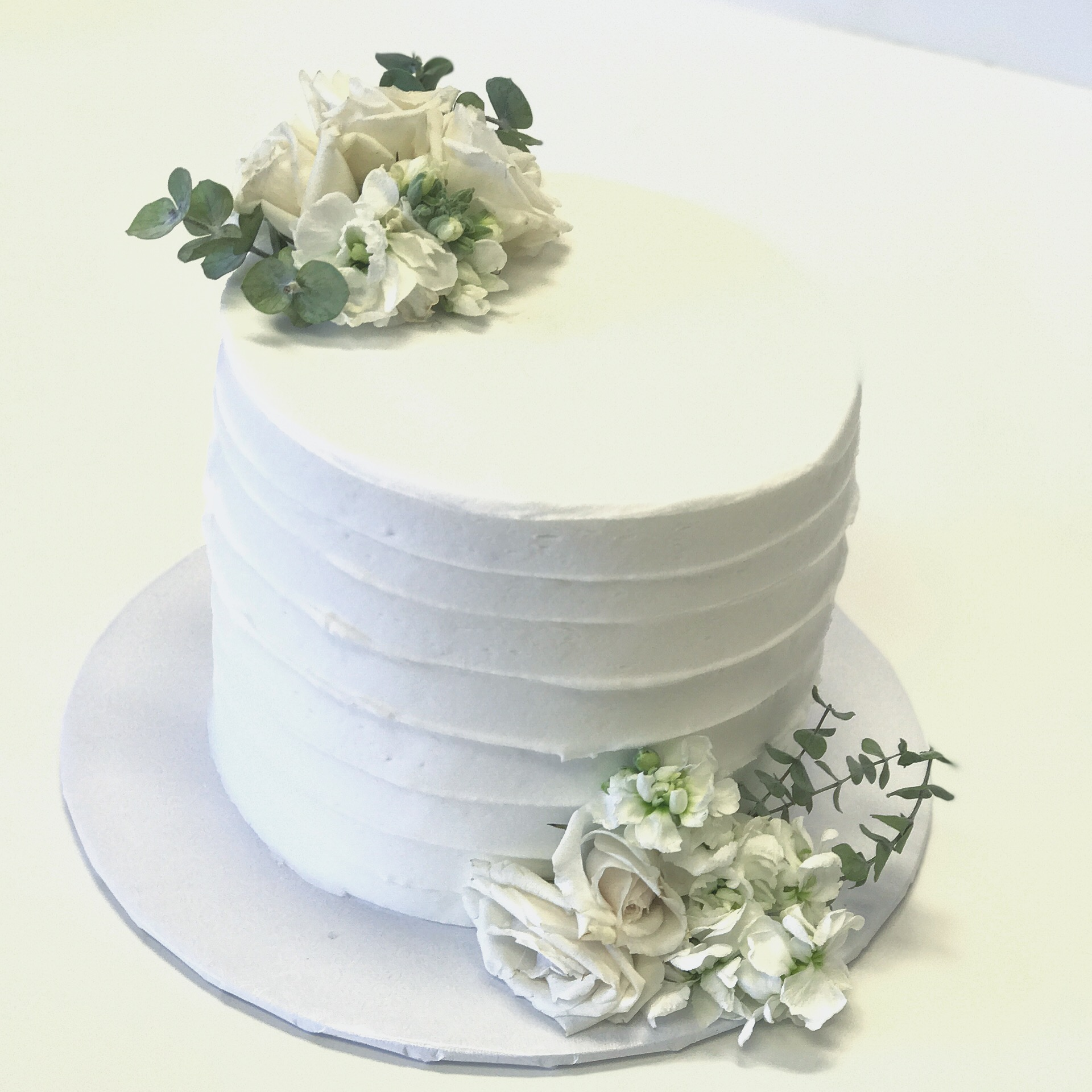 Simple Wedding Cake: A Cake Life