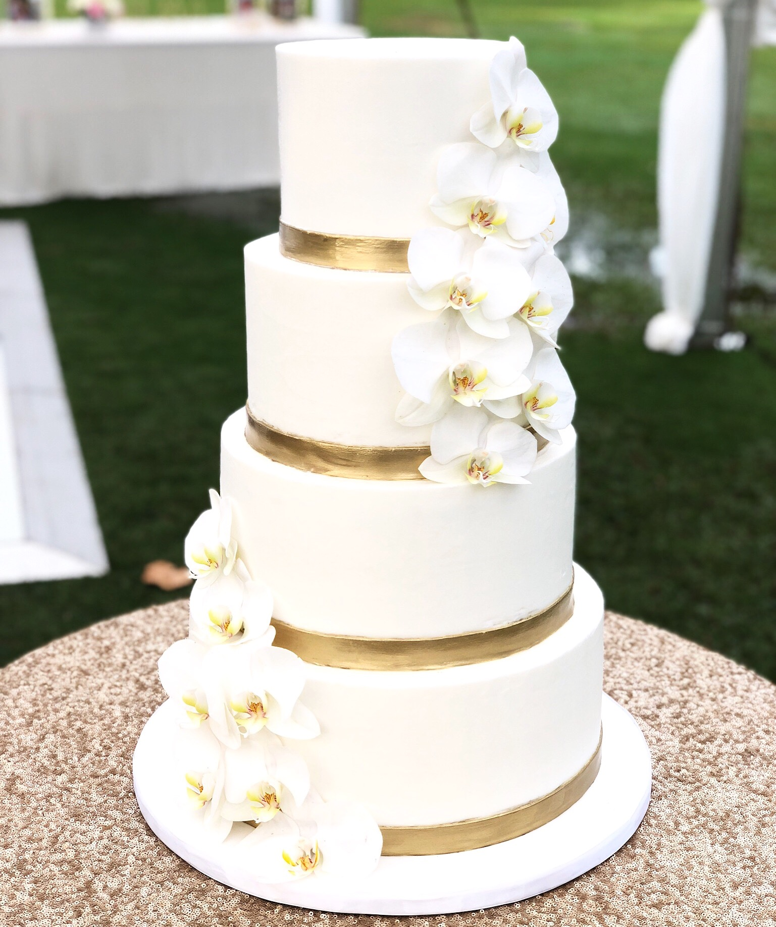 gold wedding cakes gallery wedding a cake 14819