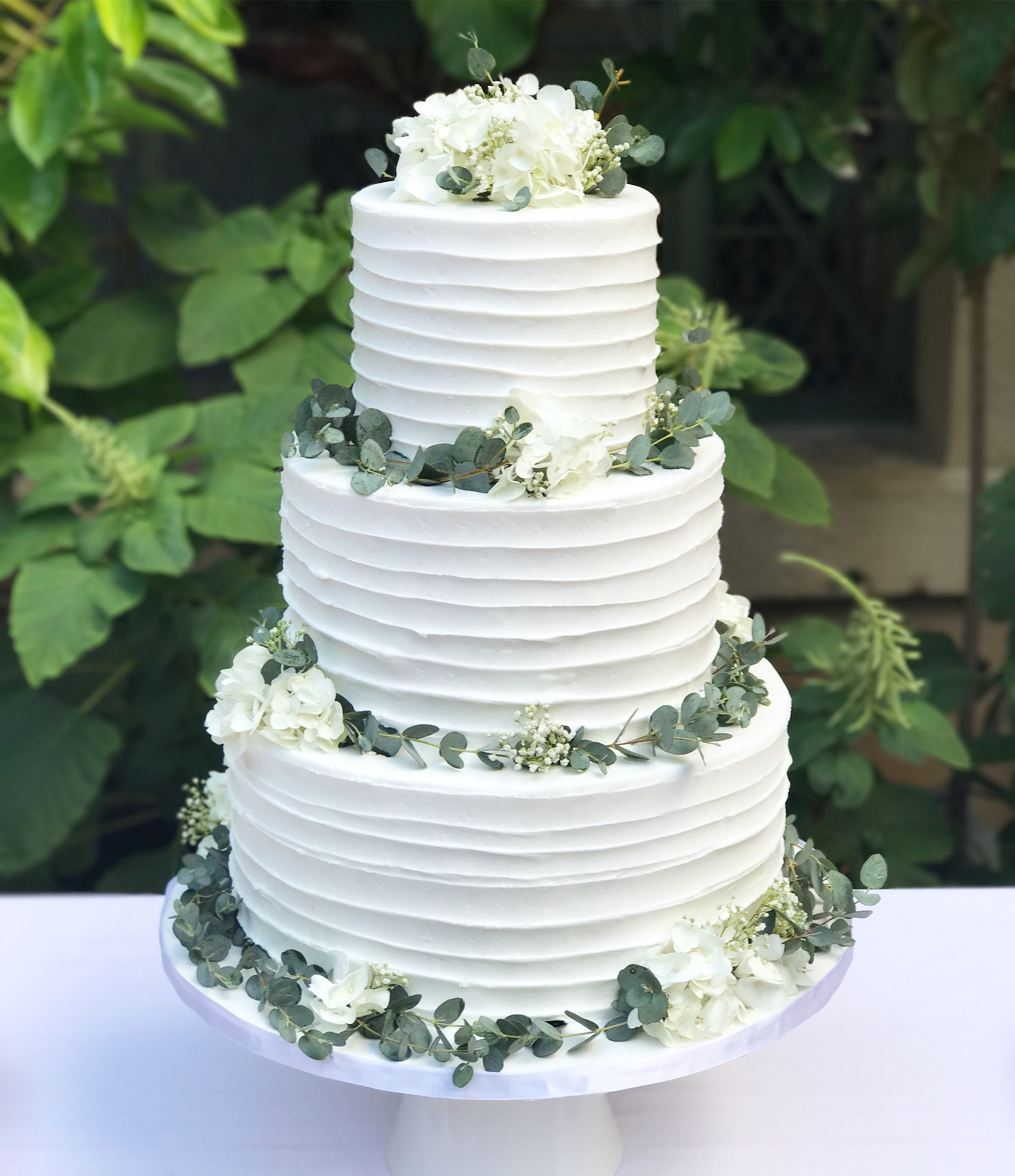 Buttercream Wedding Cake: A Cake Life