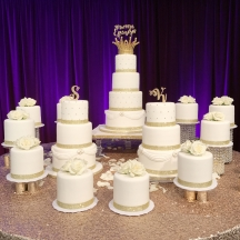 20 Tier Wedding Cake