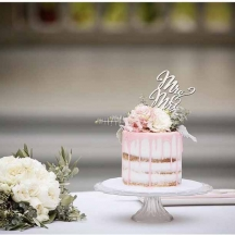 Blush Drip Cake