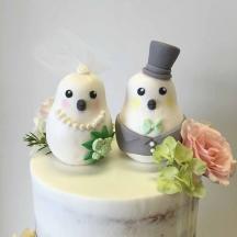 Custom Bird Cake Toppers