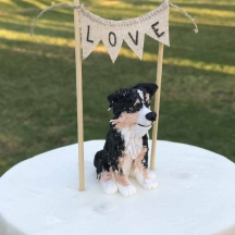 Custom Doggie Cake Topper