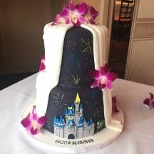 Disney Castle Peek-A-Boo Back