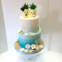 Ocean Ombre with Pineapples