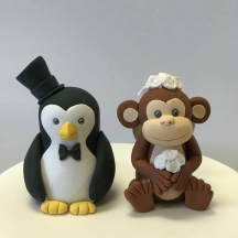 Penguin & Monkey