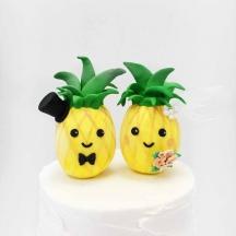 Pineapple Cake Topper