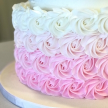 Pink Ombre Rosettes