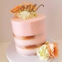 Semi-Naked Anniversary Cake